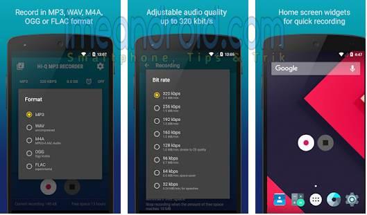 aplikasi rekam suara hp android