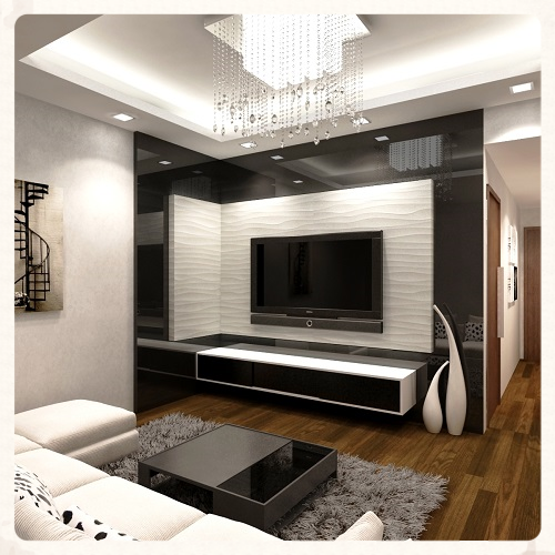 Tv wall panel tv feature wall ideas - Feature wall ideas living room tv ...