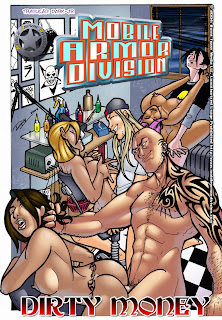 Dinheiro sujo - Quadrinhos porno