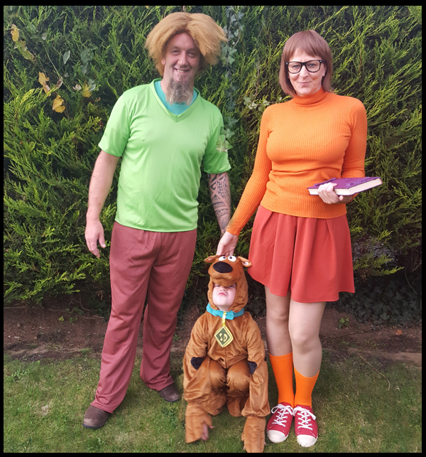 Scooby Doo Halloween Outfit