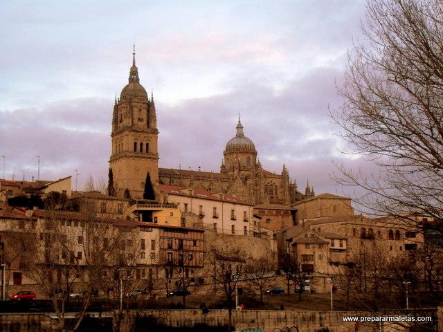 vistas al centro de Salamanca