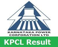 KPCL Result