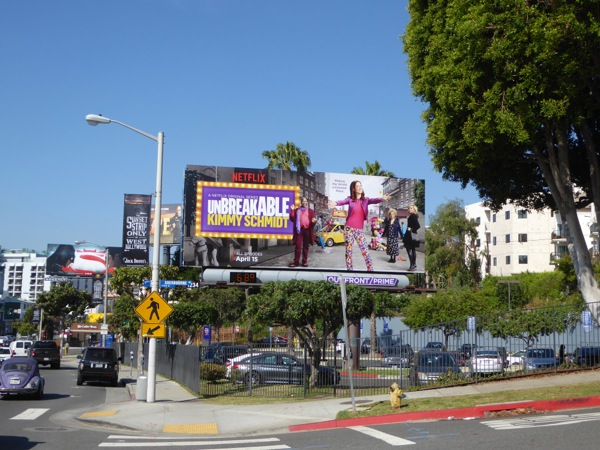 Unbreakable Kimmy Schmidt season 2 billboard