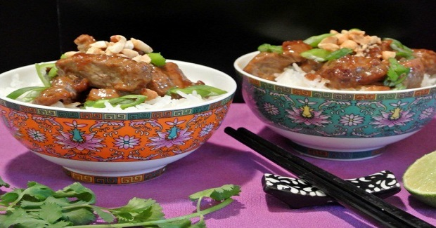 Thai Beef In A Peanut Sauce Recipe