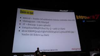 RootedCon 2016 - Daniel Martínez aka dan1t0: Troceando la URL