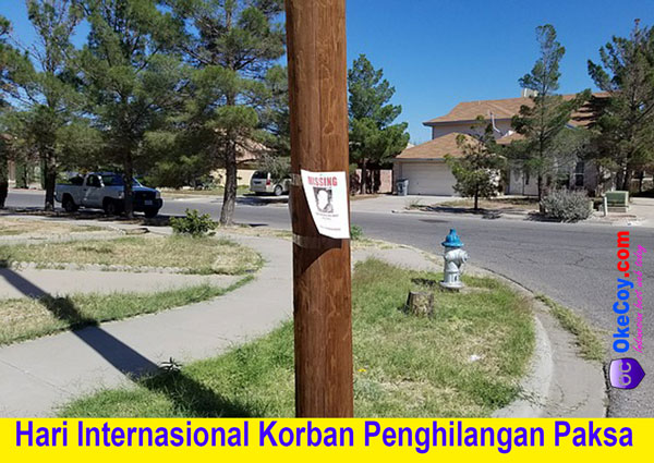hari korban penghilangan paksa dunia internasional nasional indonesia sedunia latar belakang tujuan peringatan