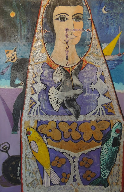 Sally Weintraub arte naíf surrealismo amor