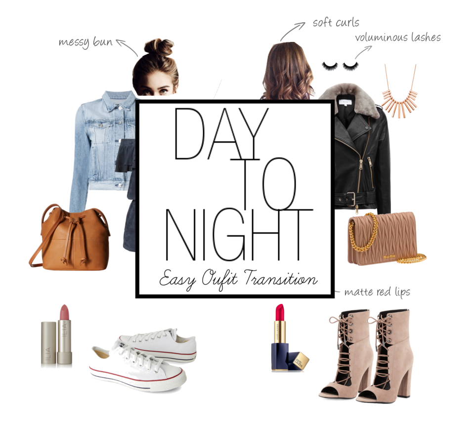 {Outfit Challenge} Day to Night Easy Outfit Transition