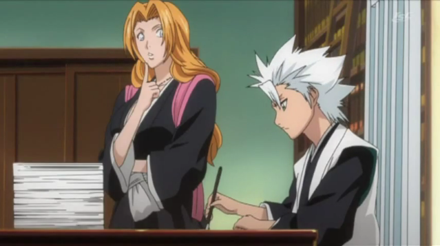 hitsugaya and matsumoto relationship questions