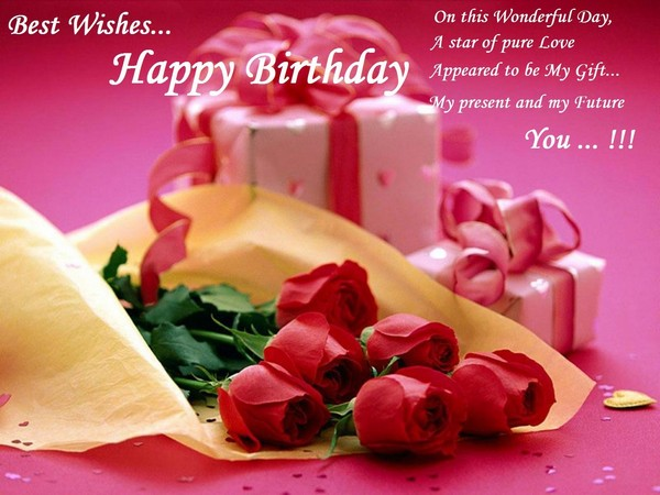 Happy Birthday Husband Romantic ~ Romantic happy birthday wishes for wife with images and quotes