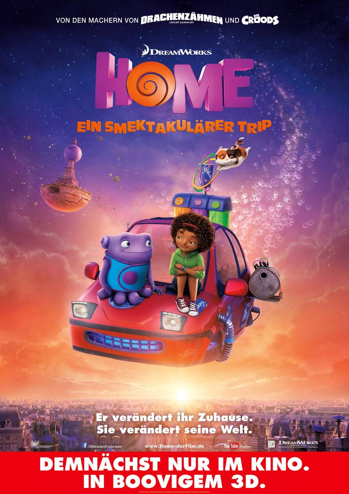 Home german poster teaser trailer for Wallpaper home film