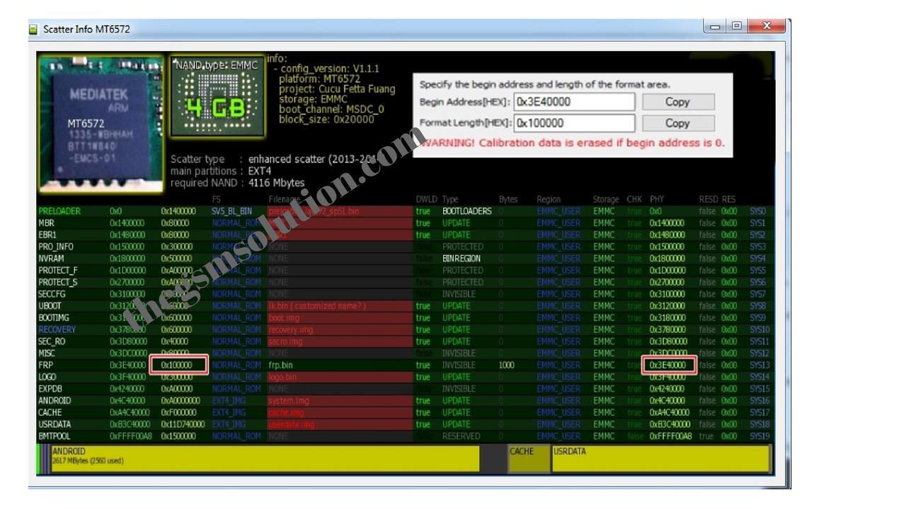 Tecno Ka70 Scatter File