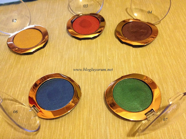 flormar puffy eye shadows toplu