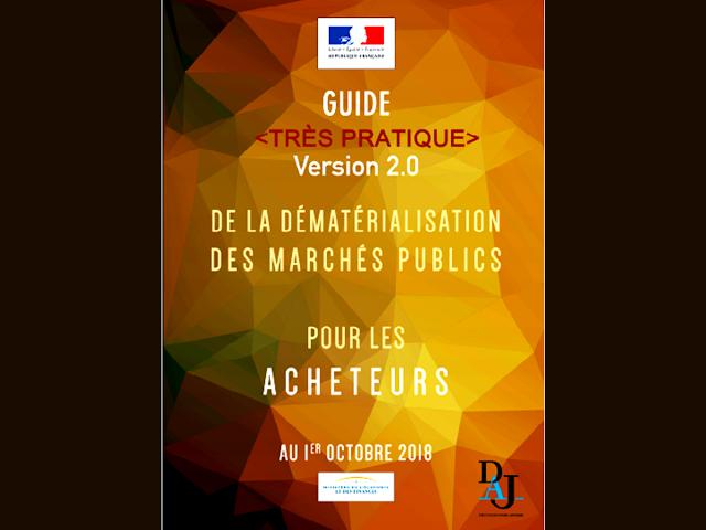 Guide dématérialisation Marchés publics 2018