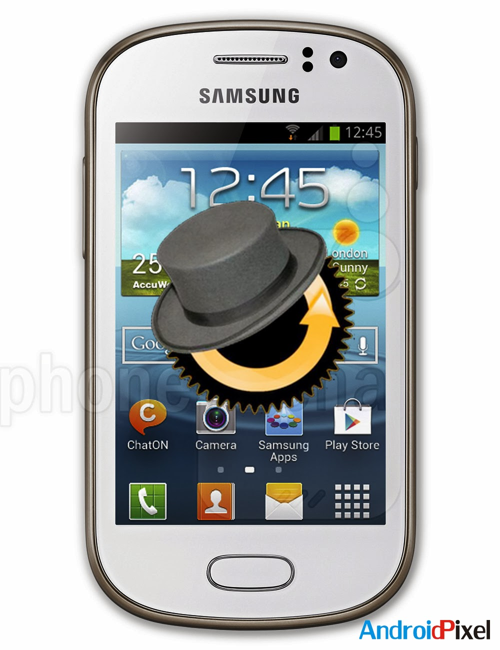 How To Flash CWM Recovery On Samsung Galaxy Fame GT-S6810 « Android