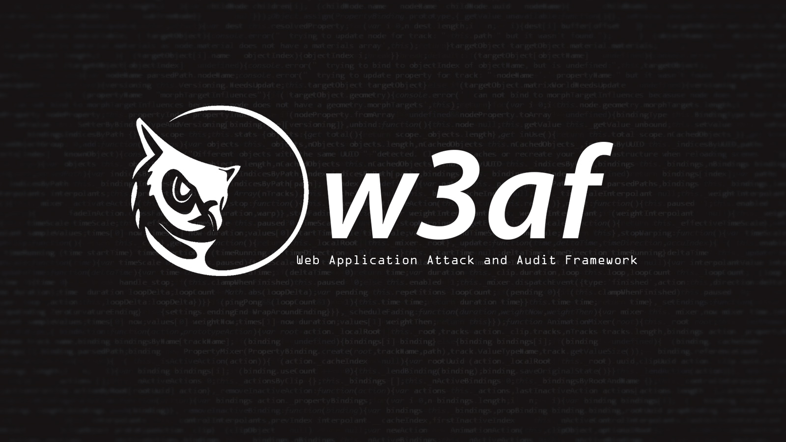 w3af - Web Application Attack and Audit Framework