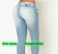 Como elevar tu autoestima com pompis arriba jeans