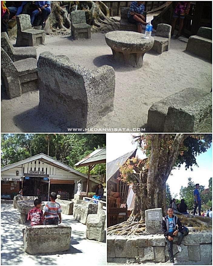 Batu Persidangan Raja Siallagan Samosir