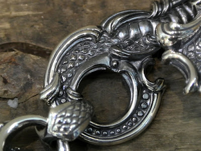 Legio Made - Serpent & Arabesque Key Chain