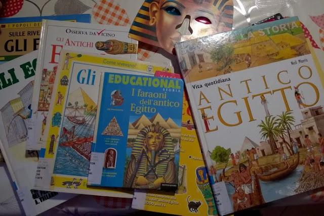 libri Egitto homeschooling