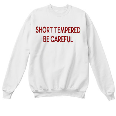 Short Tempered Be Careful Sweatshirt Zara Sweater Shirt Zara Jumper