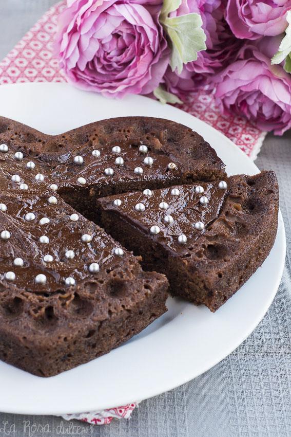 Bizcocho de chocolate #sinlactosa #microondas