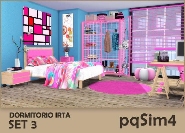 Set nº 3 del dormitorio Irta 1