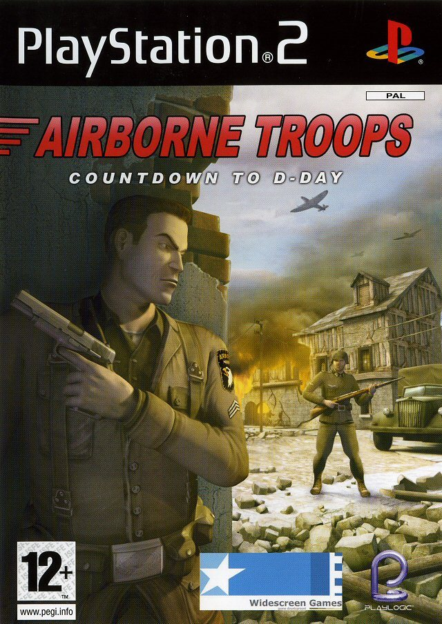 Airborne Troops Countdown to D-Day PAL PS2