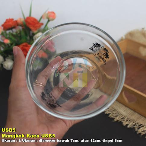 Mangkok Kaca USB5