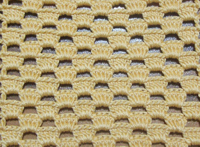Crochet: decorative stitch 3 - Uncinetto: punto decorativo 3