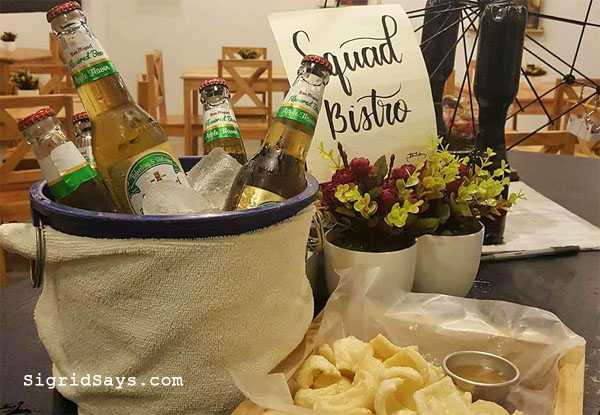 Squad Bistro - Bacolod restaurants - bucket of beer