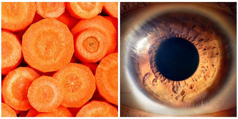 Carrot, Eye
