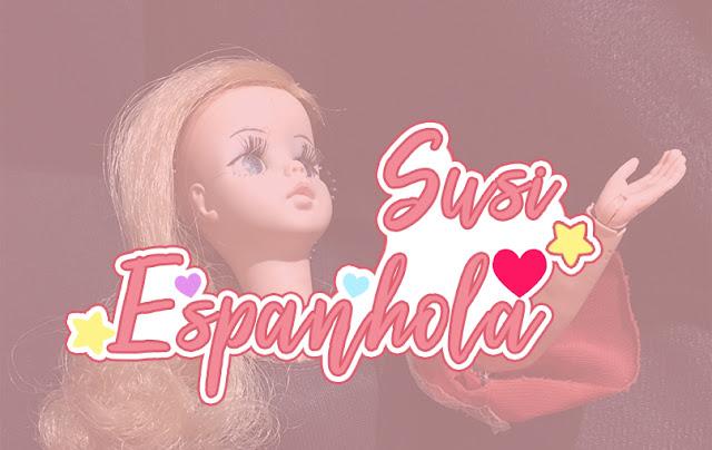 Boneca Susi Típica Espanhola da Estrela, anos 70