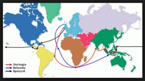 Sejarah 4 Bangsa Barat yang Menjajah Indonesia (Portugis, Spanyol, Belanda, Inggris)