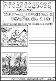 Desenhos sobre o meio ambiente