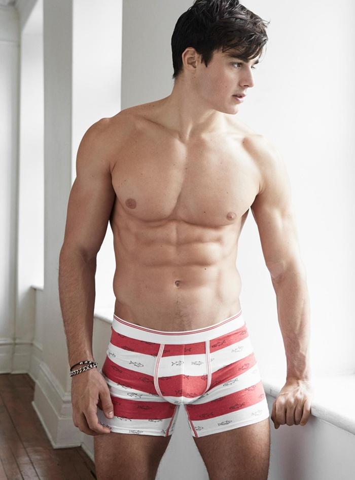 Pietro Boselli in underwear