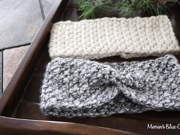 Chunky Crochet Ear Warmer - Free Crochet Pattern