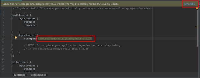 penyebab dan cara Mengatasi Error Cannot Resolve Symbol R pada android studio