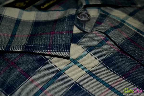 Brumano Large Check Shirt