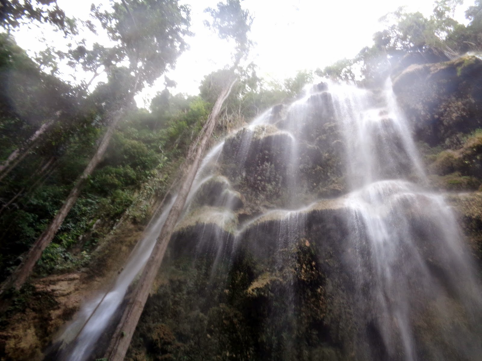 tumalog waterfalls oslob cebu