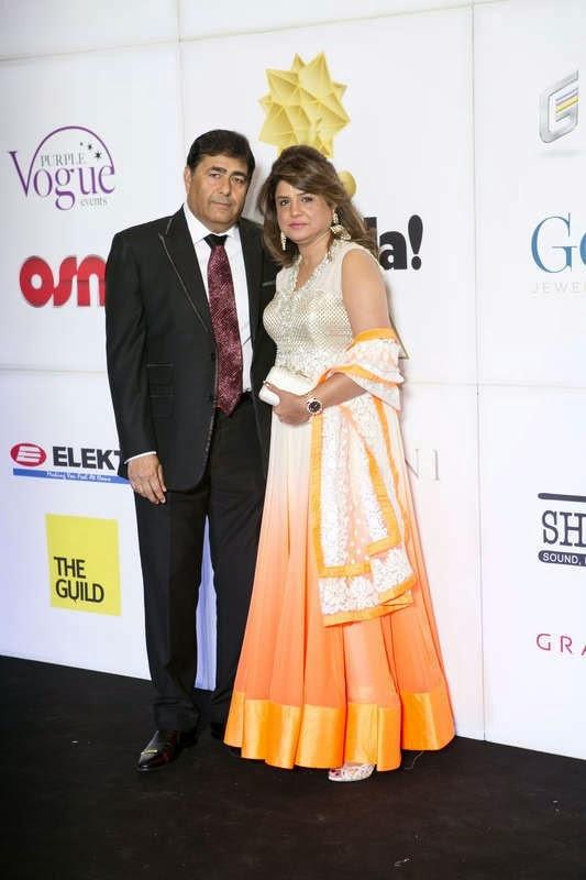 Manu and Sapna Jeswani, Masala! Awards 2014 Photo Gallery