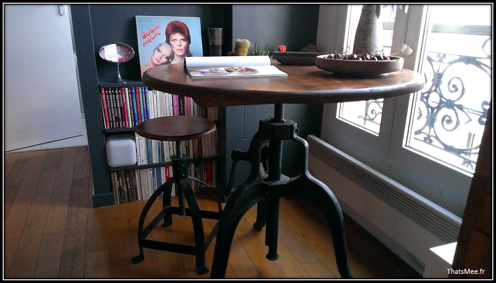 tabouret de bar ancien brocante. Black Bedroom Furniture Sets. Home Design Ideas