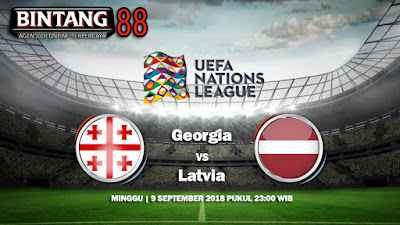 Prediksi Georgia vs Latvia 9 September 2018