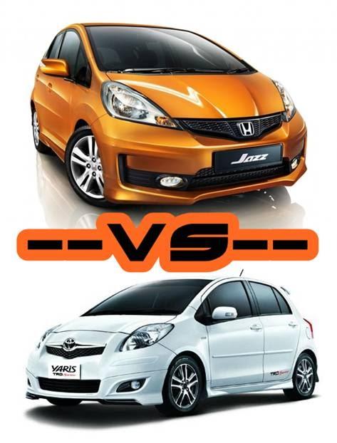 Harga Headlamp Grand New Veloz Oli Avanza Berapa Liter Honda Jazz Vs Toyota Yaris - Astra Indonesia