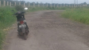 Jalan Jabung Marga Sekampung Lamtim rusak berat butuh perbaikan total