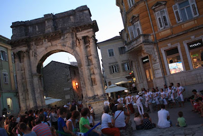 Arch of the Sergians in Pula