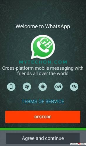 Latest Gb Whatsapp Apk Download 2018 Mytechon Com Provide You All