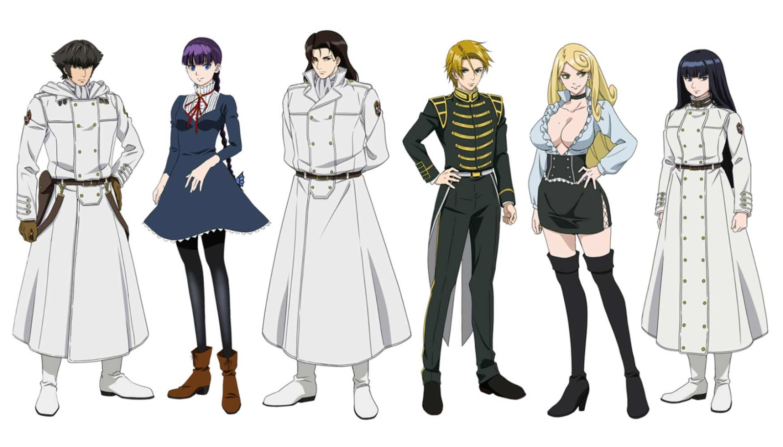 To the Abandoned Sacred Beasts (Katsute Kami Datta Kemono-tachi e) anime - personajes