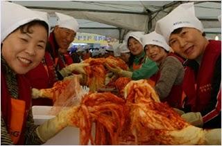 เทศกาลกิมจิกวางจู (Gwangju Kimchi Festival)