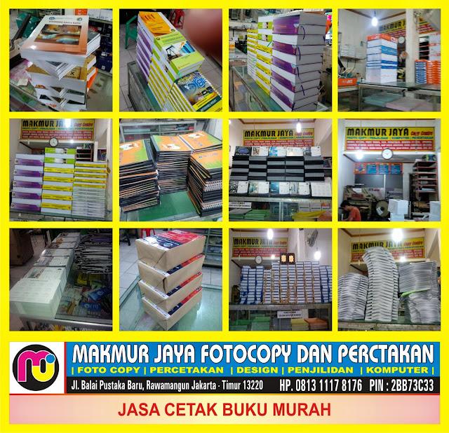Jasa Cetak Buku Murah Jakarta